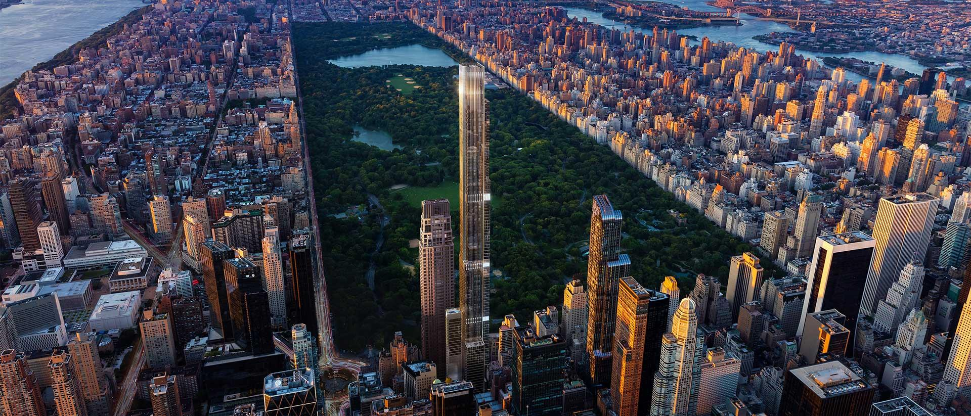Central Park Tower Project Canvas