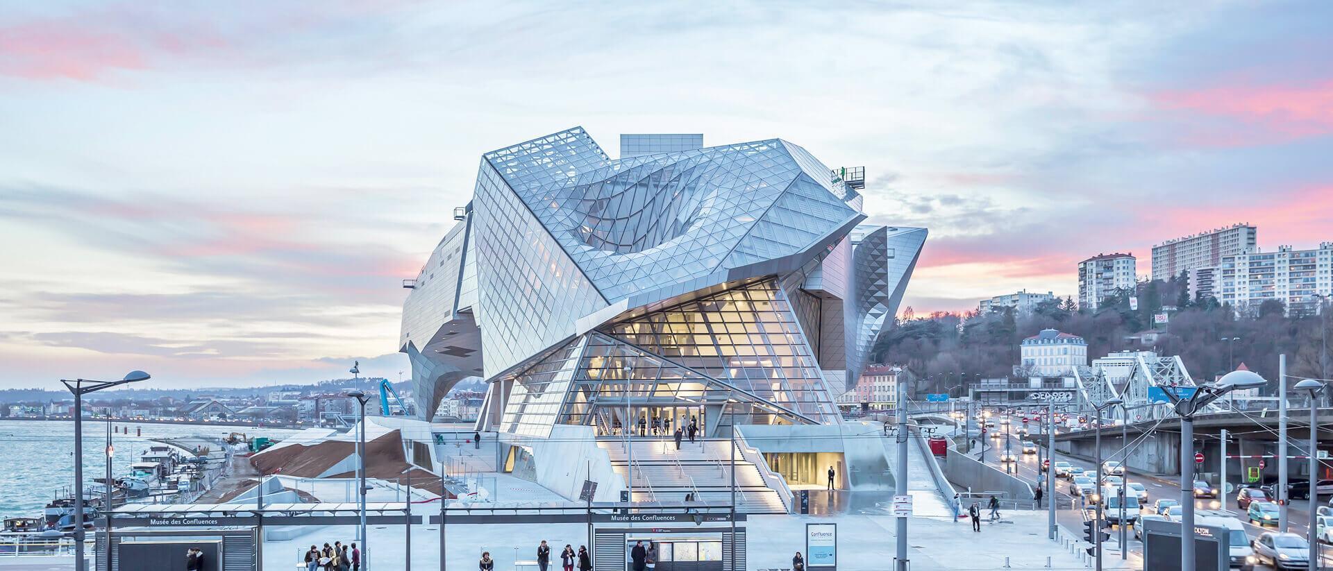 Musée des Confluences Project Cover