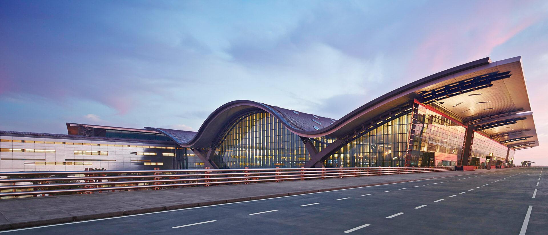 Hamad International Airport Main Terminal Building