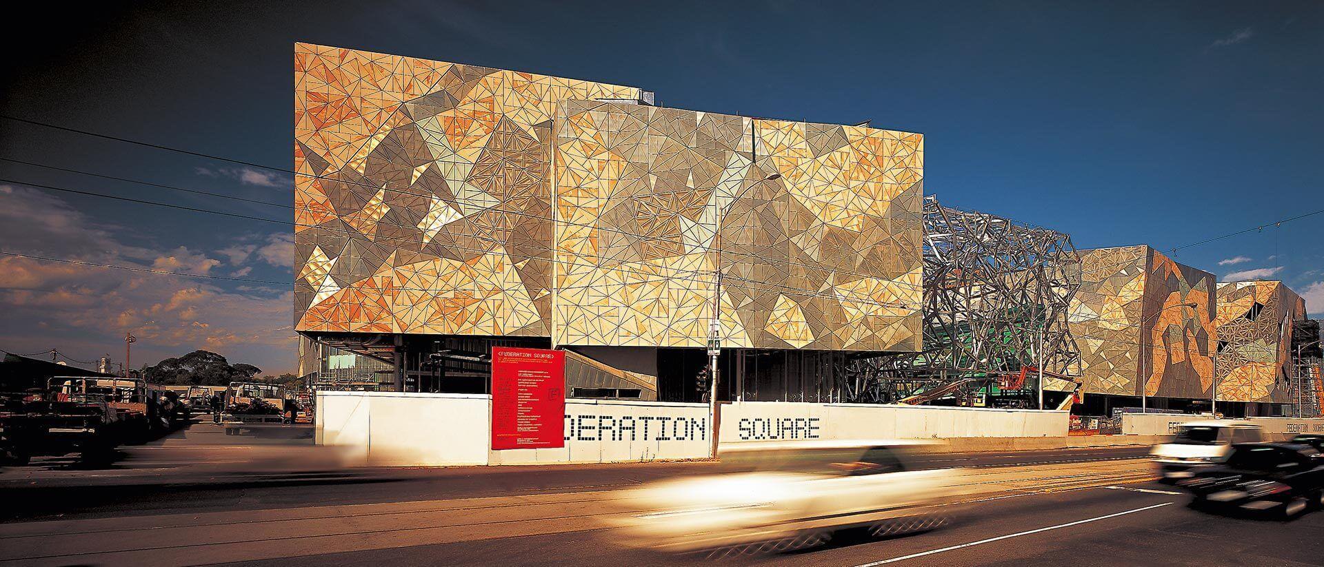 Federation Square Project Architecture